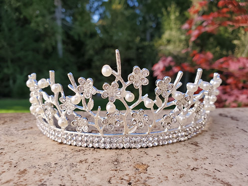 White Branch Tiara