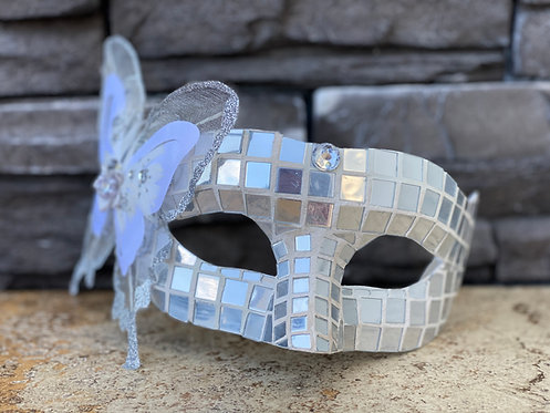 Mirrored Butterfly Mask
