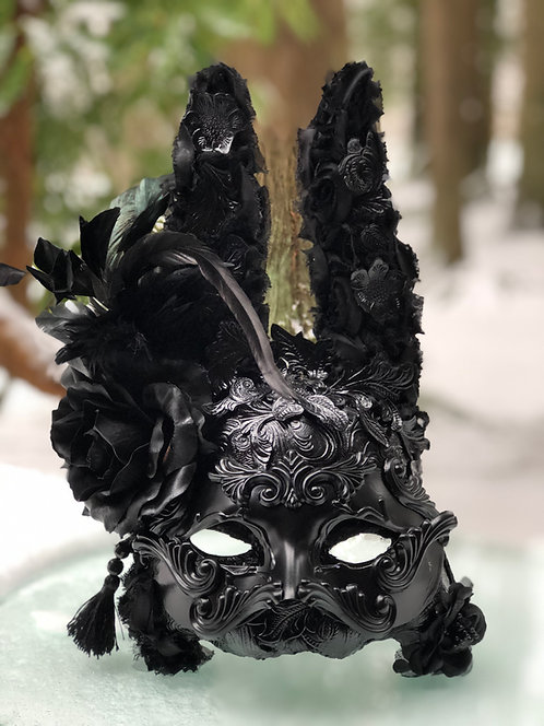One of a Kind Rabbit Mask