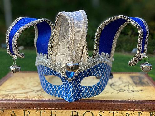 Jester Mask in Blue