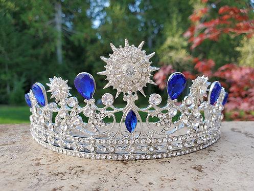 Celestial Blue Tiara