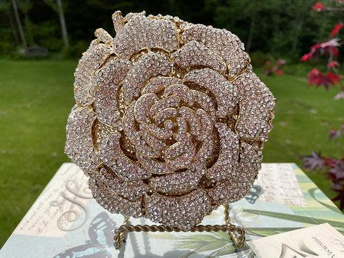 Jeweled Rose Purse