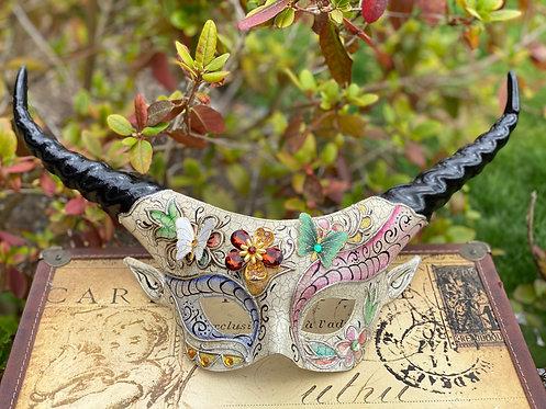Botanical Faun Mask