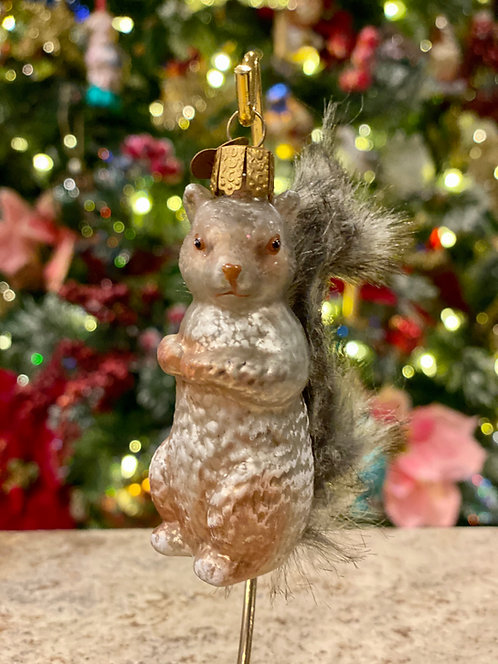 Old World Christmas Squirrel Ornament
