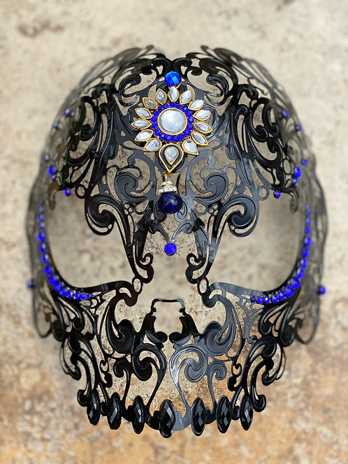 Dia De Los Meurtos Mask in Black