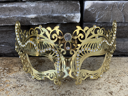 Metal Vine Mask
