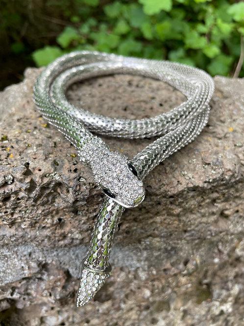 Metal Snake Necklace