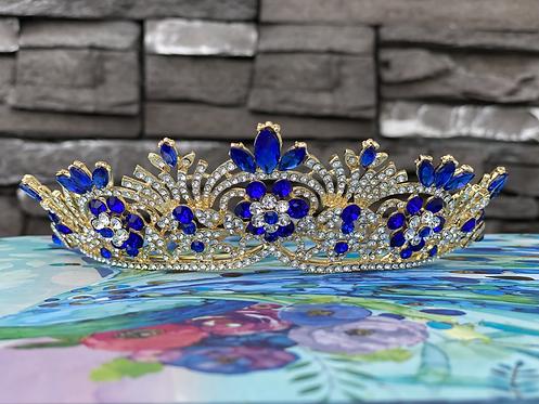 Blue Pageant Tiara