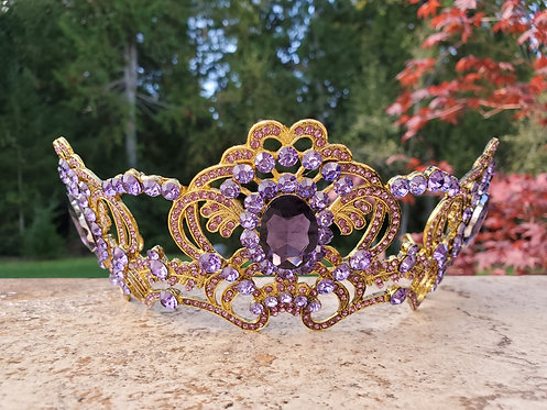 Royal Orchid Crown