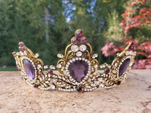 Purple Priestess Crown