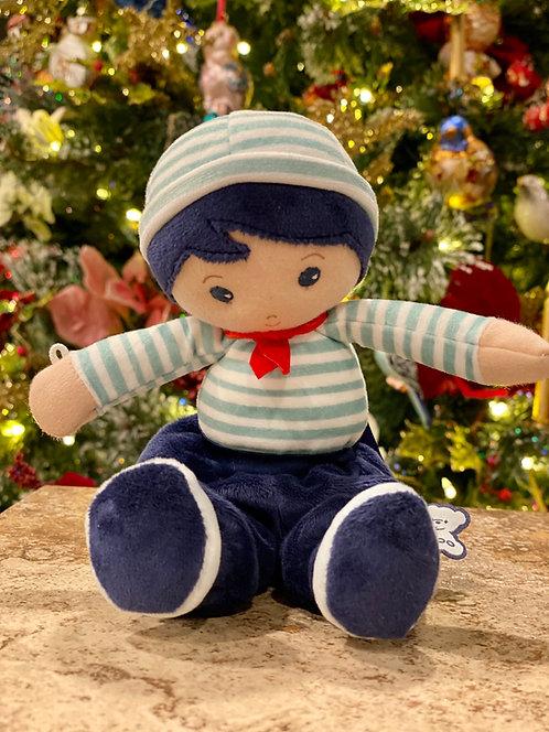 Plush French Sailor Boy Doll