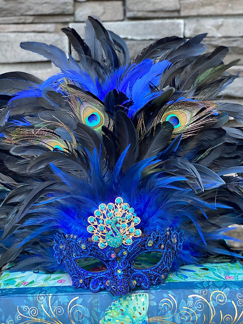 Peacock Plumage Mask