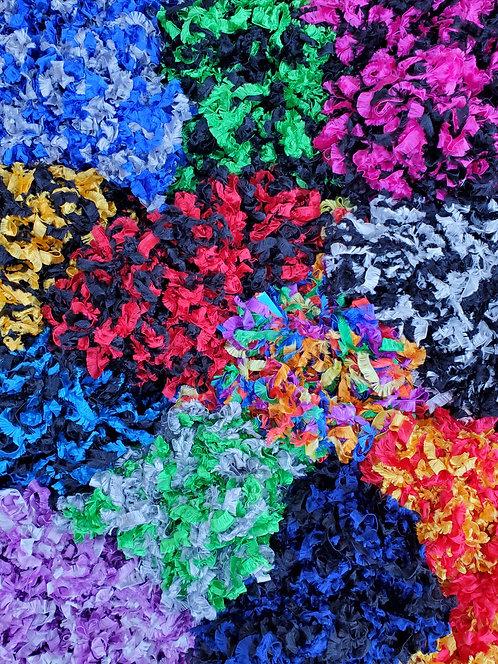 Fabric Boas in Multi-Tones