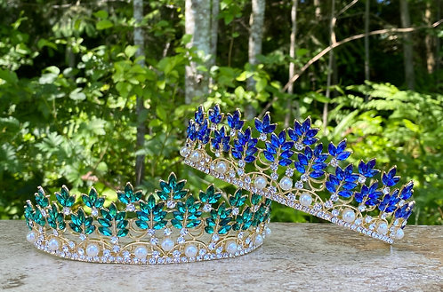 Jewel Leaf Tiara