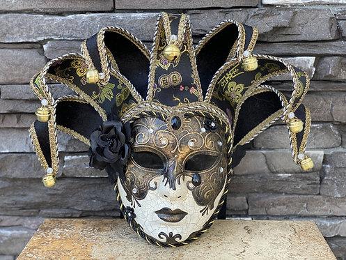 Brocade Venetian Mask