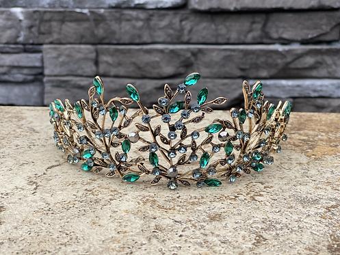 Emerald Vine Tiara