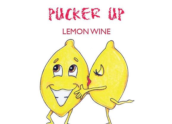Pucker Up Lemon Wine