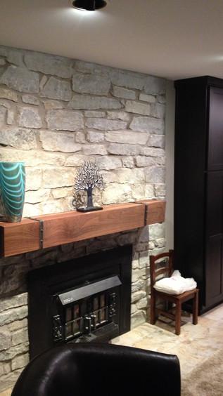 Sitting Area - Fireplace