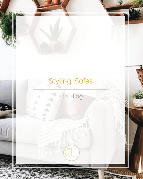 Styling: Sofas