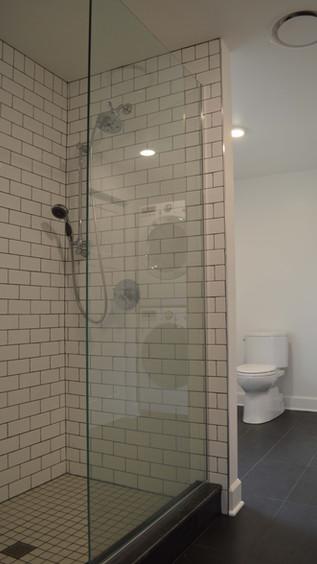 Master Bath - Shower Tilework