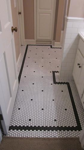 Guest Bath - Tile Floor