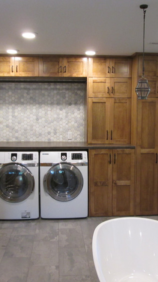 Master Bath - Laundry