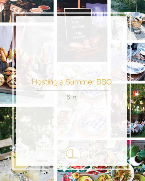 Summer BBQ Hosting Tips