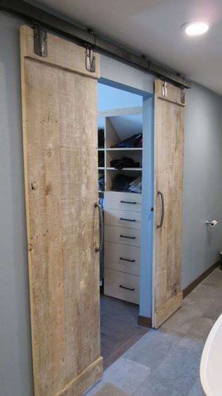 Master Bath - Closet