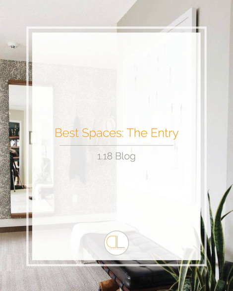 Best Spaces: The Entry