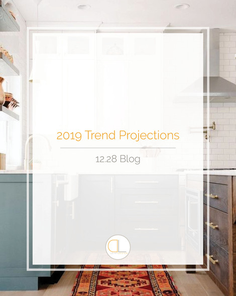 2019 Interior Design Trend Projections