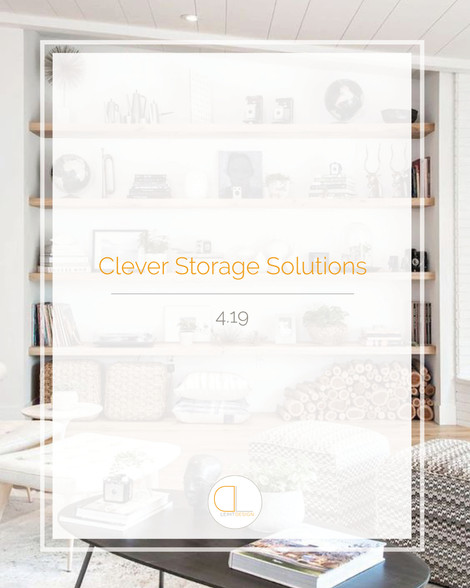 Clever Storage Solutions For Your Home