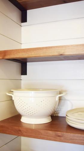 Kitchen - Custom Shelves