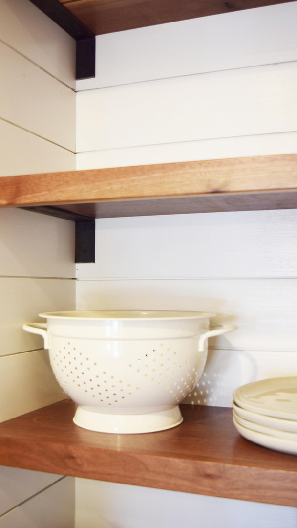 Kitchen - Custom Shelves