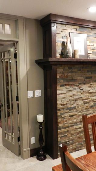 Kitchen - Fireplace