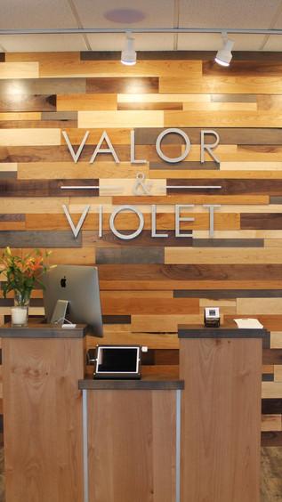 Valor & Violet - Entry