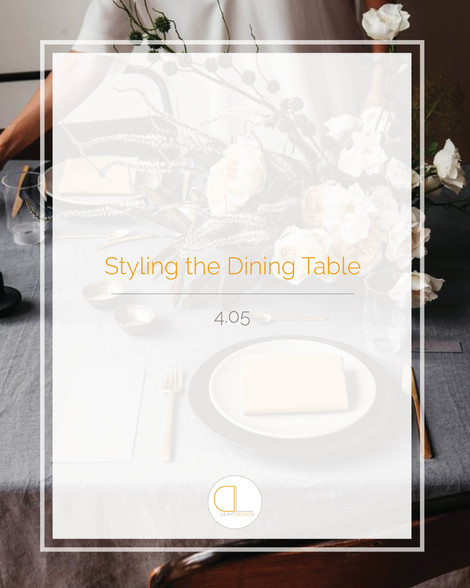 A Designer's Guide to Table Styling