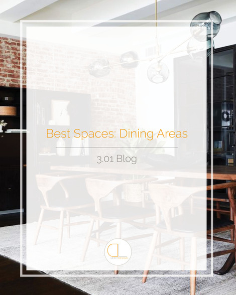 Best Spaces: Dining Areas