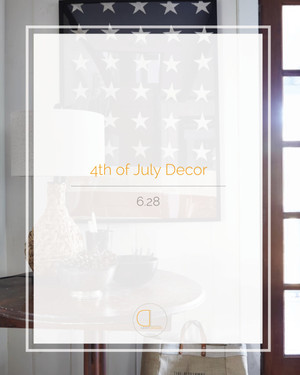 Tasteful Decorating for 4th of July