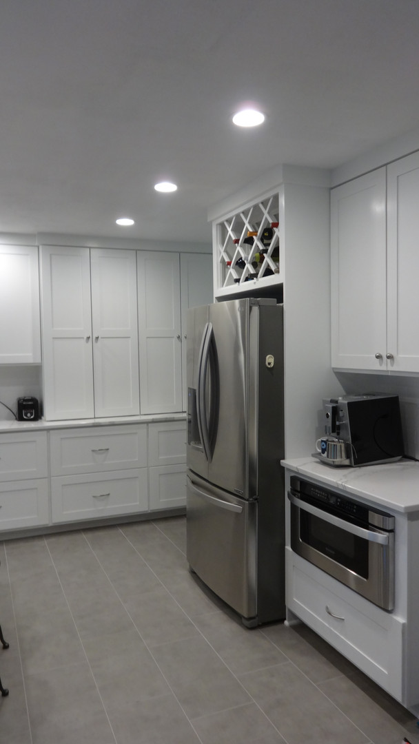 Kitchen - Fridge Built-in