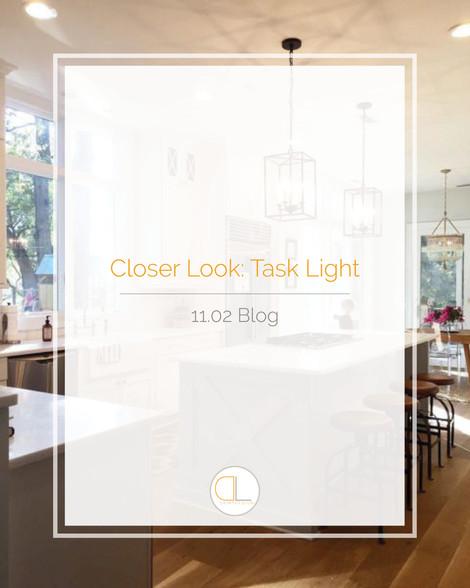 Closer Look: Task Light
