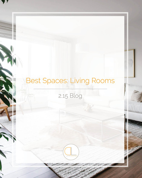 Best Spaces: The Living Room