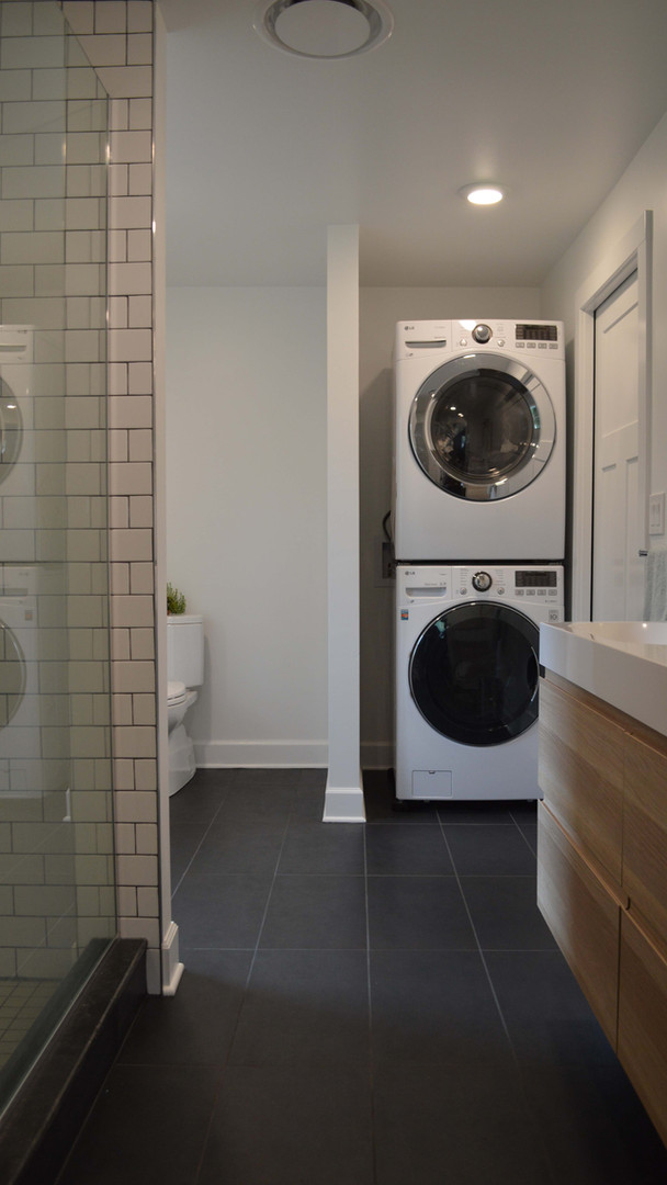 Master Bathroom - Laundry