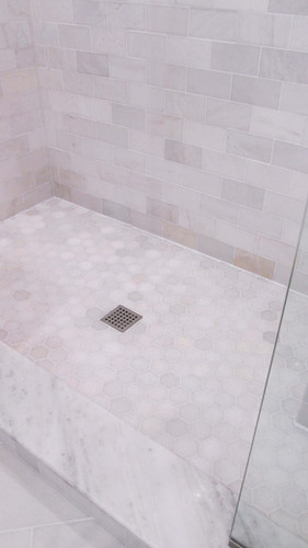 Master Bath - Shower Details