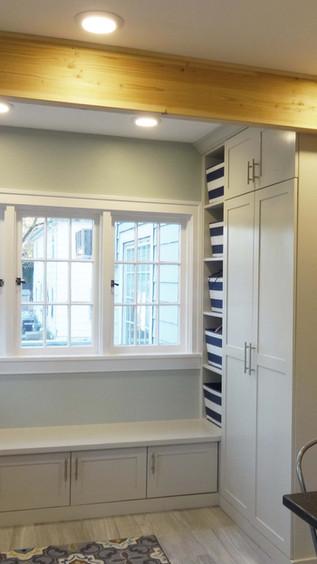 Kitchen - Custom Mudroom Built-in