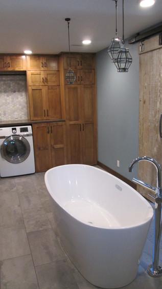 Master Bath - Free-standing Tub