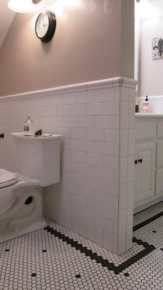 Guest Bath - Tilework