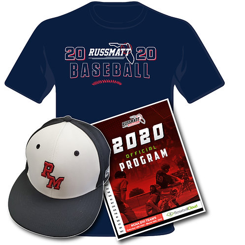 Event Shirt, Program, and Hat