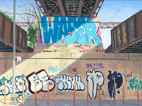Train Trestle, South Bronx,  2020