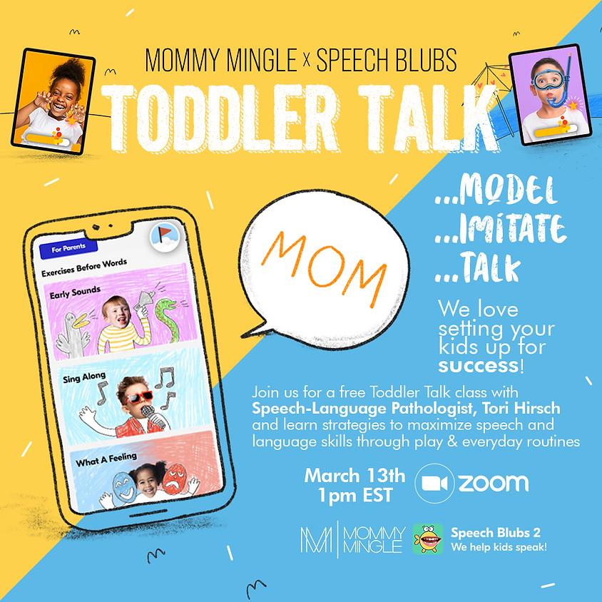 Speech Blubs Toddler Talk