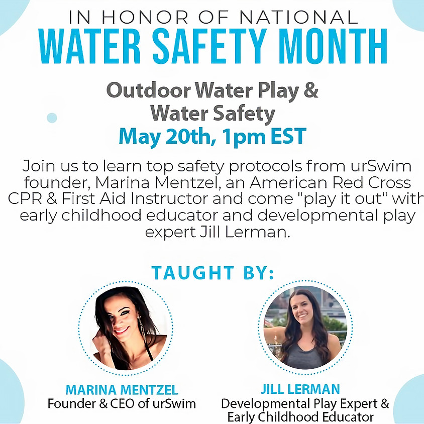 Outdoor Water Play Ideas & Water Safety